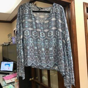 BB Dakota | Plus Size 1X Blouse